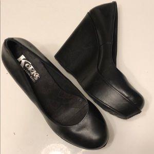 Size 9 Kork-ease Black Platform